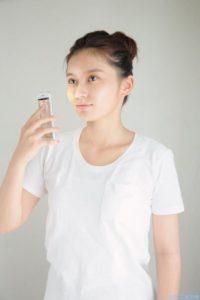肌測定アプリ、肌パシャ